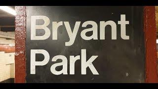 Нью-Йорк. Экскурсия. Брайант парк - городской оазис.