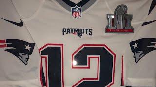 Tom Brady's Super Bowl LI Jersey!!