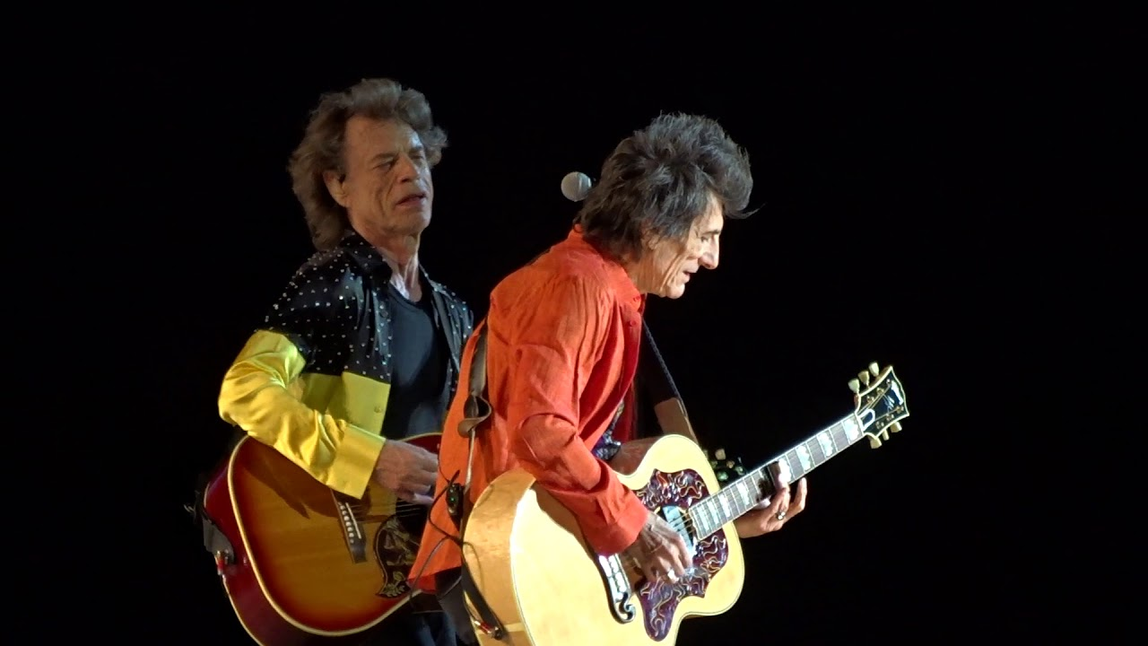 The Rolling Stones - Dead Flowers - Gillette Stadium - Foxboro, MA 7-07-2019