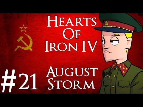 Hearts of Iron 4 | August Storm mod | USSR | Part 21 | The Peace Conference