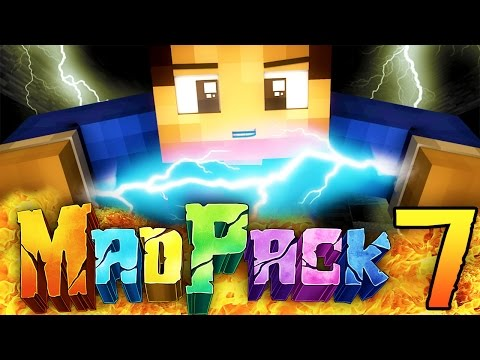 "Minecraft MAD PACK 2: ""ELECTRIC POWER!"" Episode 7 (Power Moves, Boss Attacks, Dynamos!)"