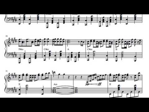 Moana - How far I will go - violin sheet music