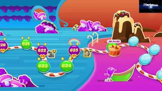 Candy Crush Soda Saga Level 625   |   Hard Level   |   No Boosters   |   2-Star ⭐⭐