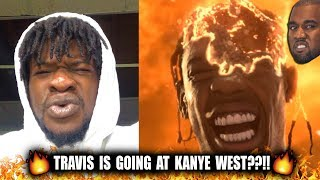Travis Scott - Stop Trying To Be God (Kanye Di$$?)  Music Video (REACTION!)