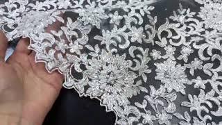 кружево для свадебного платья Luxury Monroe