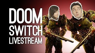 DOOM SWITCH LIVESTREAM - Outside Xtra Plays Doom on Nintendo S…