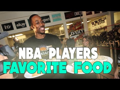 GUESS THAT NBA PLAYER'S FAVORITE FOOD