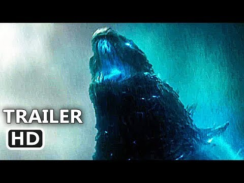 GODZILLA 2 Official Trailer (2019) King Of The Monsters, Millie Bobby Brown Movie HD