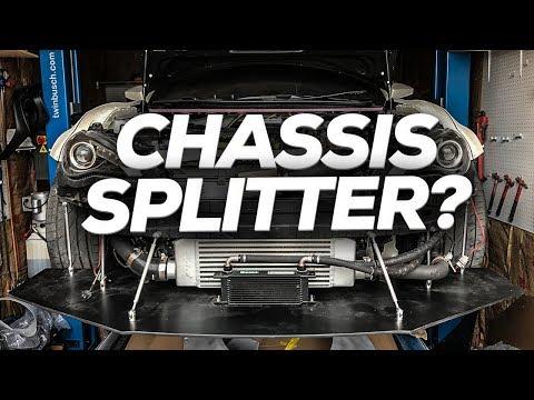 Custom DIY Chassis Mounted Splitter [FRS/BRZ]