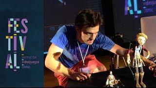 Dillon Markey + Powerglove = Awesome Stopmotion at Pixelatl FESTIVAL