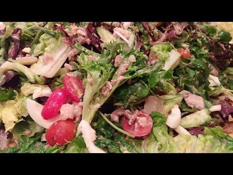 C/w Nana: Lao Salad w/ Egg Dressing (ຍຳສລັດລາວ == Yum Salad Lao)