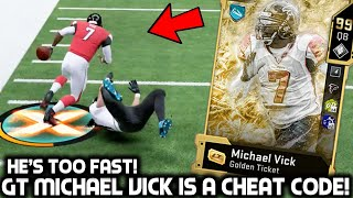 GOLDEN TICKET MICHAEL VICK IS A CHEAT CODE! JUKING EVERYONE! Madden 20 Ultimate Team