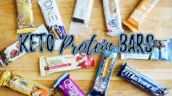 Keto Protein Bars | Actual Carb Counts | Best Bars For Keto