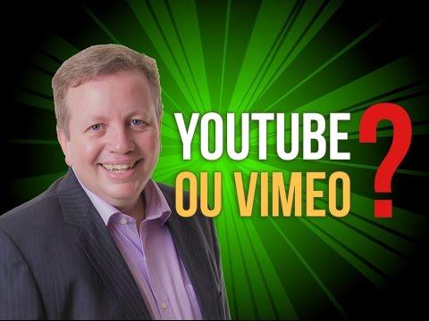 Qual a diferença entre YouTube e Vimeo