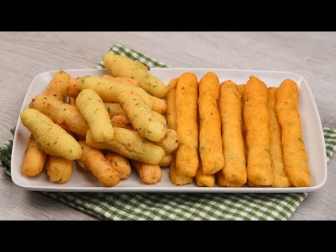 Potato sticks easy to prepare in the pan and also in the oven