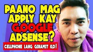Step By Step Guide | Paano Mag Apply Sa Youtube Monetization Program Ni Google Adsense Para Kumita
