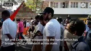 Sabrimala Temple Issue: Hartal in Kerala, widepspread Violence Across State