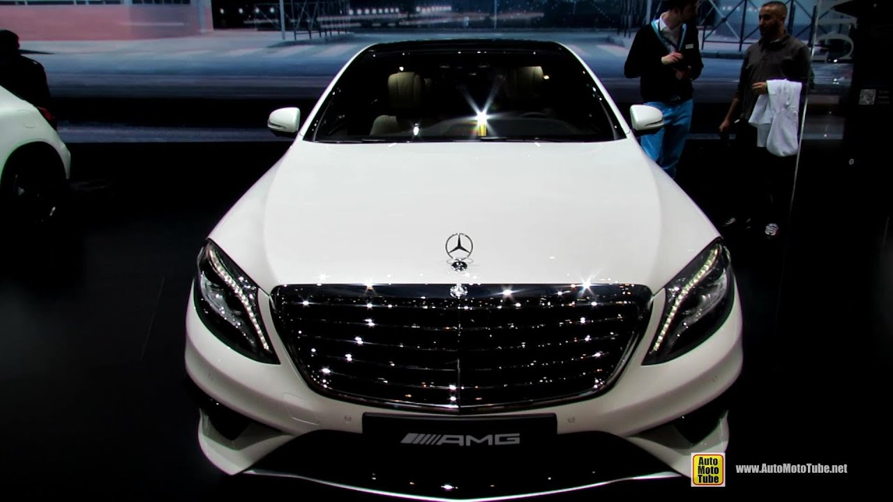 2014 mercedes benz s class s63 amg exterior and interior walkaround 2014 geneva motor show