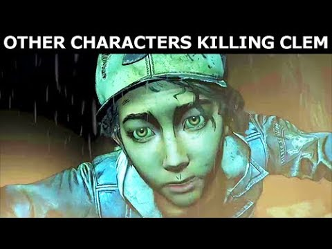 All Clem's Deaths Caused By Other Game Characters - The Walking Dead Final Season 4 Episode 1 |