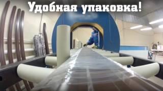 видео Заборы из металлического штакетника UNIX