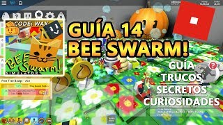 Bee Swarm Simulator, 30 Bees! Ticket CODES and Hive 37M, Secrets, Roblox Spanish Tutorial Tutorial 14