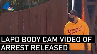LAPD Body Cam Video Released After Music Producer Alleges Arrest Due to Racial Profiling NBCLA