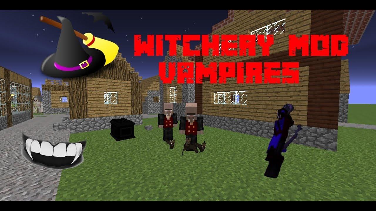 Minecraft Witchery Mod Full Vampire Tutorial all Levels (including Bonus  Ability!)