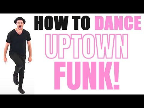 Bruno Mars - Uptown Funk Dance Tutorial