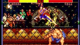 Street Fighter II: The World Warrior (World 910522) - -Playthrough- Vizzed.com GamePlay - User video