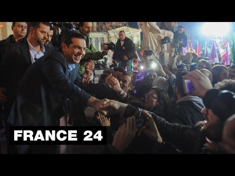GREECE - Greek voters reject austerity in defiant message to EU