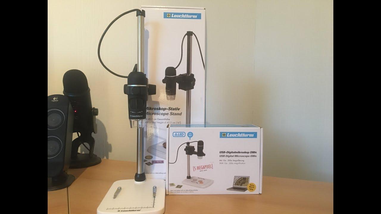 Ronalex produktreview leuchtturm usb digitalmikroskop dm youtube