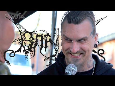 Spellgoth of Baptism and Horna gets interviewed at Steelfest 2017 [INTERVIEW]