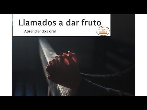 Llamados a dar fruto   Aprendiendo a orar