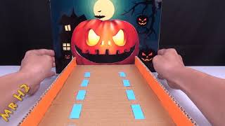 How To Make A Halloween Game for Kids From Cardboard - Diy D...