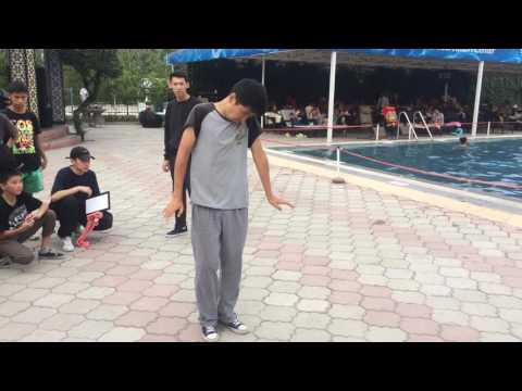 Popping Dance Battle / 2017 / Bishkek / summer Vibe /