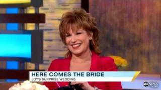 Joy Behar Dishes on Surprise Wedding, GMA
