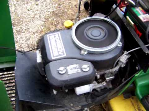 Kawasaki Fc420v John Deere 175