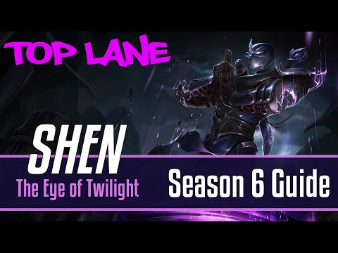 League of Legends Shen Guide | Season 6 | Patch 6.16