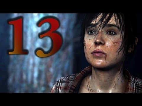 Beyond: Two Souls - Part 13: Briefing / Dragon's Hideout (Choice Path 1) (Don't Talk, Romantic)