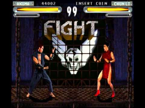 ►Arcade - Street Fighter The Movie The Game