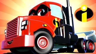 Super Kamion Carl u Auto Gradu 🚚 ⍟  Specijal Izbavitelji - Fantastični Kamion - Crtići sa autima