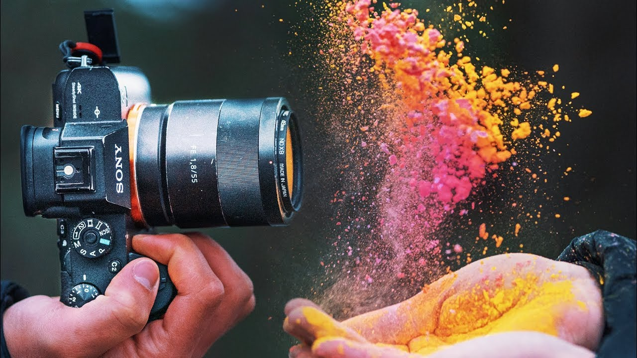 Crazy Paint Powder Photography Youtube