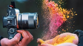 CRAZY Paint Powder Photography !!
