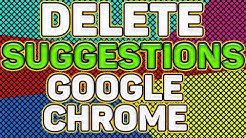 How to DELETE/REMOVE AUTO SUGGEST URLs in GOOGLE CHROME. Delete URL Auto-Fills in Google Chrome!