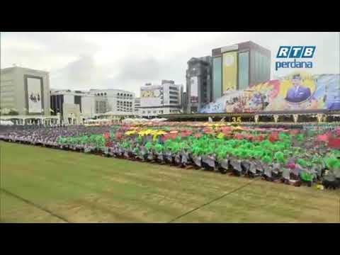 Persembahan Padang Sempena Sambutan Hari Kebangsaan Negara Brunei Darussalam Kali Ke-35 2019