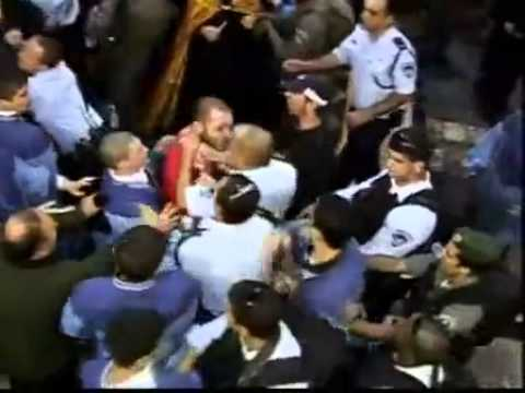 2008 Armenian & Greek Monks Fight over Holy Fire