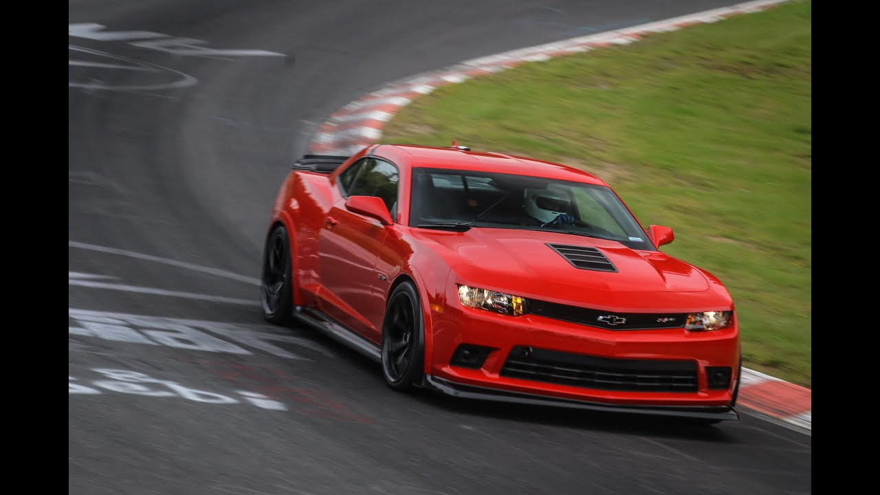 2015 Chevrolet Camaro Z28 Testing At The N 252 Rburgring