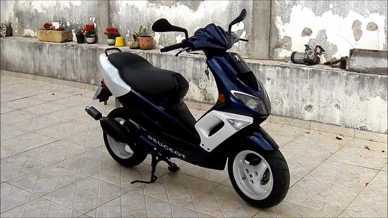 Peugeot Speedfight Lc 50cc Scooter Youtube