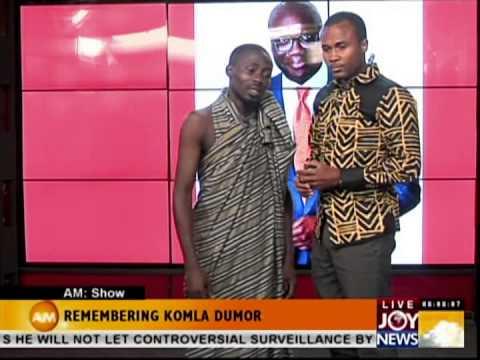KOMLA DUMOR'S ELEGY ON JOY NEWS (MULTI TV-GHANA)