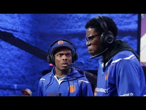 NBA 2K League | Knicks Gaming Beats Cavs Legion GC Behind Idrisdagoat6's Triple-Double